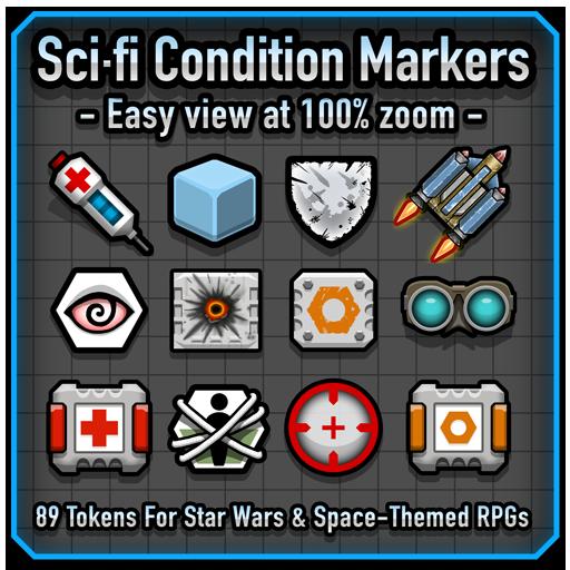 Sci-fi Condition Markers