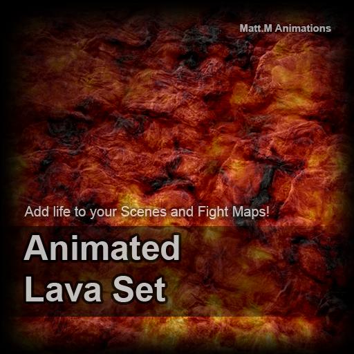 Animated Lava