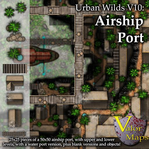Urban Wilds V10: Airship Port
