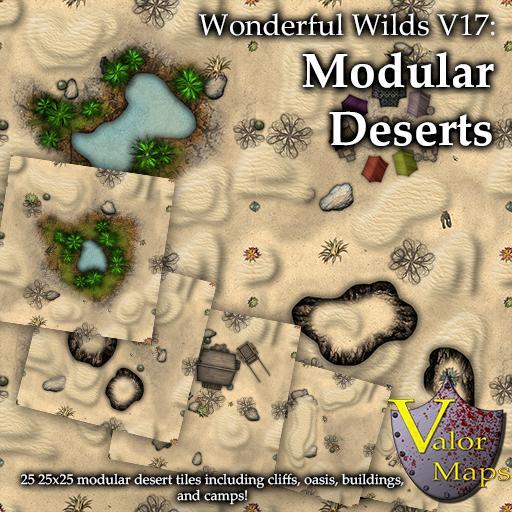 Wonderful Wilds V17: Modular Deserts