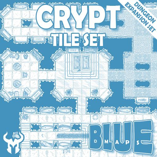 Blue Maps: Crypt Tile Expansion Set