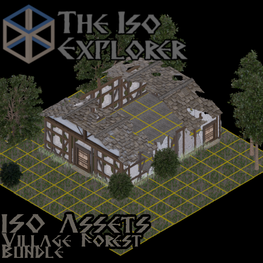 Iso Assets: Village and Forest Bundle