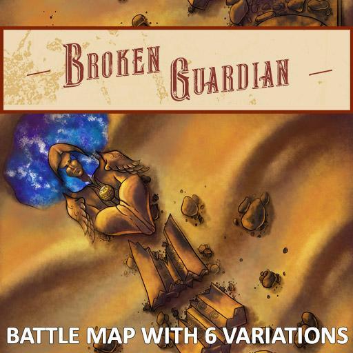 Broken Guardian Battle Map