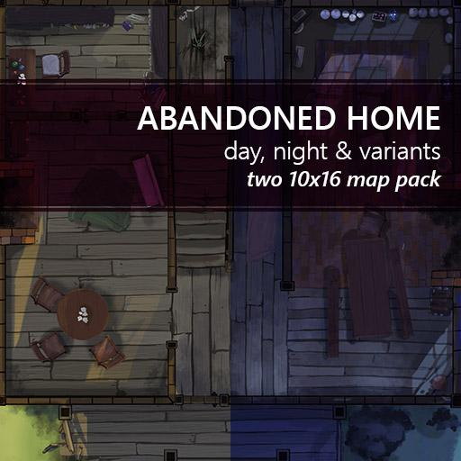 Abandoned House Battlemaps