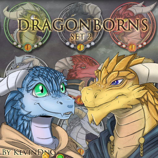 Dragonborns - Set 2