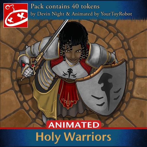 Holy Warriors Animated