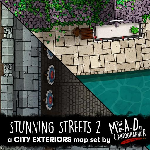 Stunning Streets 2 Map Pack