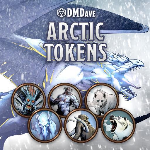 DMDave Arctic Tokens Set