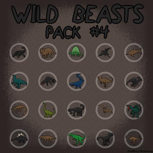 Wild Beasts Pack #4