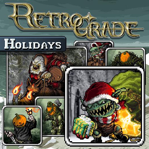 Retrograde Minis - Holidays