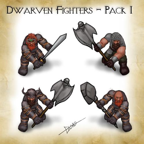 Dwarven Fighters - Pack 1