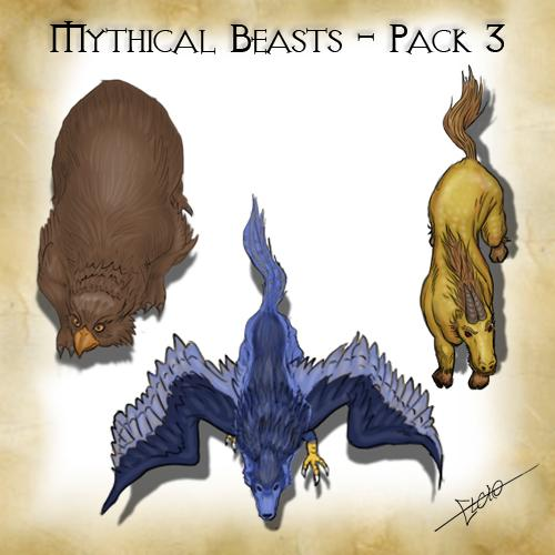 Mythical Beasts - Pack 3