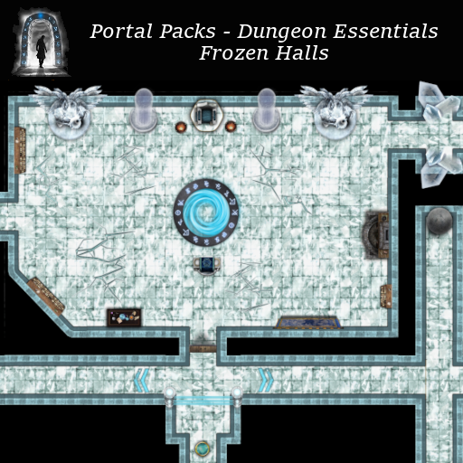 Portal Packs - Dungeon Essentials - Frozen Halls
