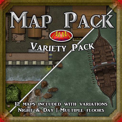 Map Pack V28 Variety Pack