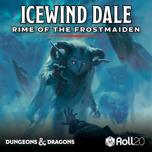 Rime of the Frostmaiden Player Art Pack