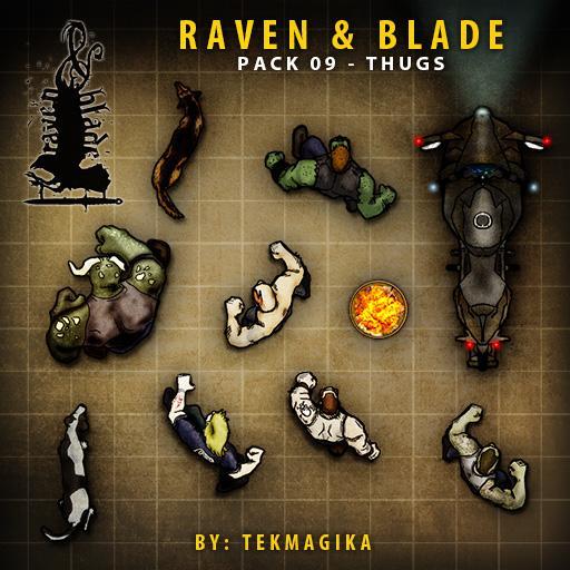 Raven & Blade Pack 09 - Thugs