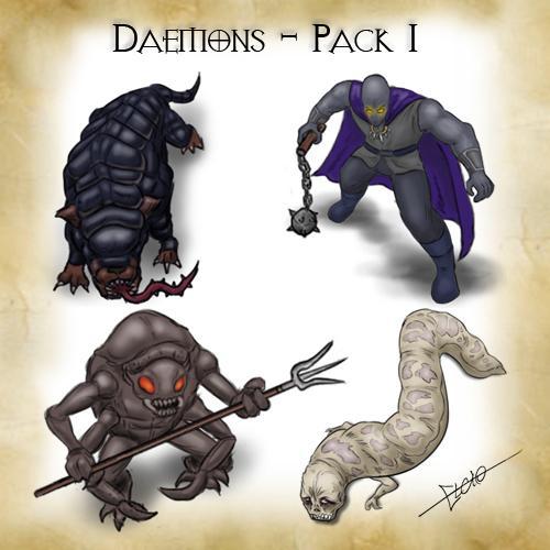 Daemons - Pack 1