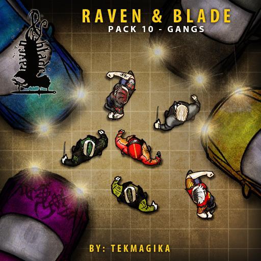 Raven & Blade Pack 10 - Gangs