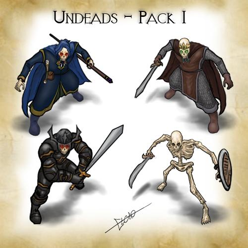 Undeads - Pack 1