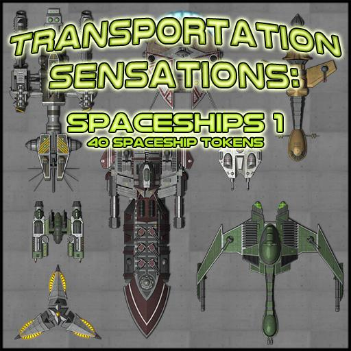 Transportation Sensations: Spaceships 1