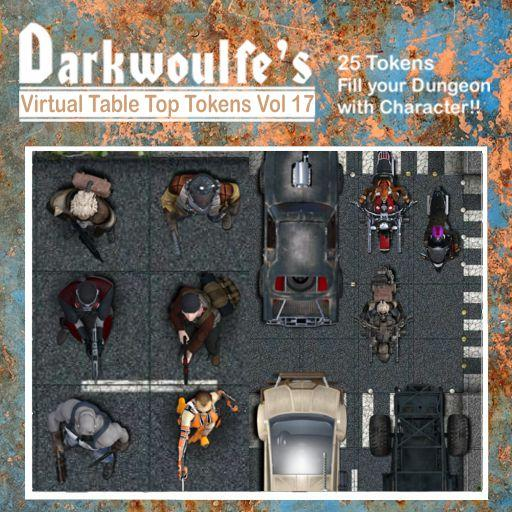 Darkwoulfe's Token Pack Vol 17: Apocalypse