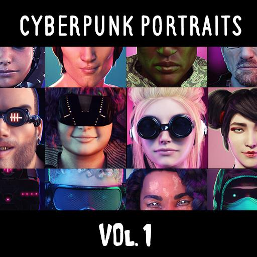 Cyberpunk Portraits Vol. 1