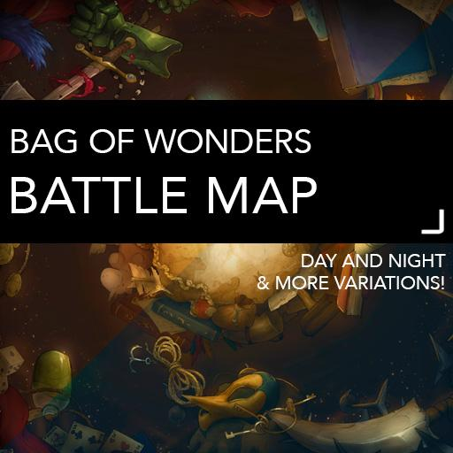 Bag of Wonders Battle Maps