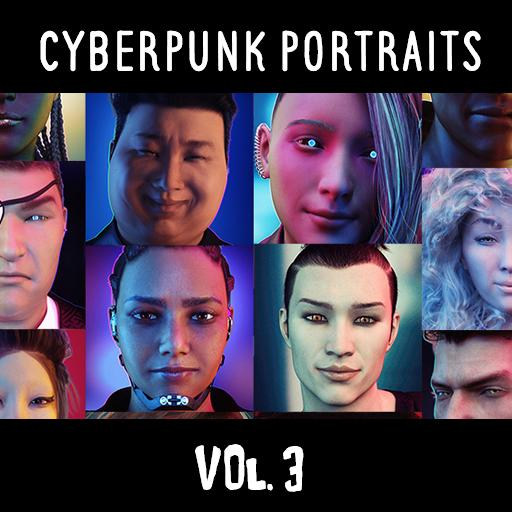 Cyberpunk Portraits Vol. 3