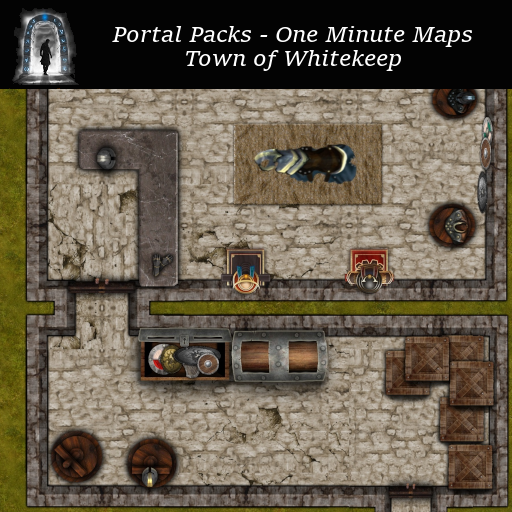 Portal Packs - One Minute Maps - Town of Whitekeep
