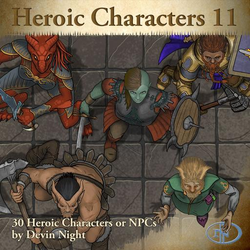 79 - Heroic Characters 11