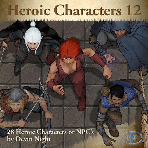 80 - Heroic Characters 12