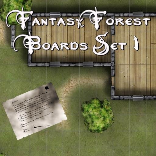 Fantasy Forest Boards Set 1