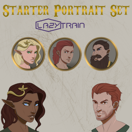 LazyTrain's Portrait Starter Pack 1