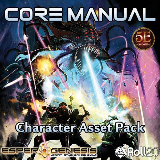Core Manual Character Asset Pack