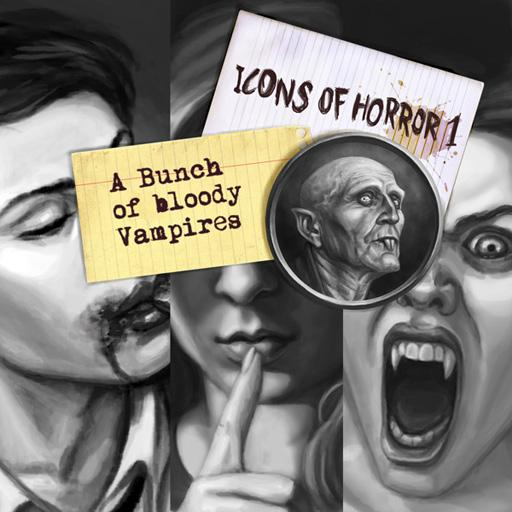 Icons of Horror 1: Bunch of Bloody Vampires