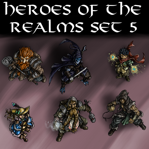 Heroes of the Realms Set 5