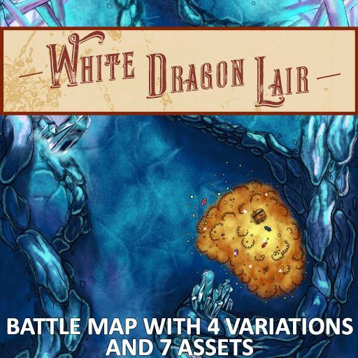 White Dragon Lair Battle Map