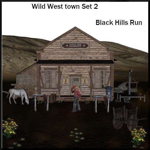 Wild West Town II:  Black Hills Run