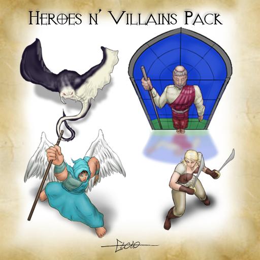 Heroes n' Villains pack