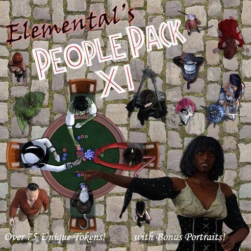 Elemental's People Pack 11