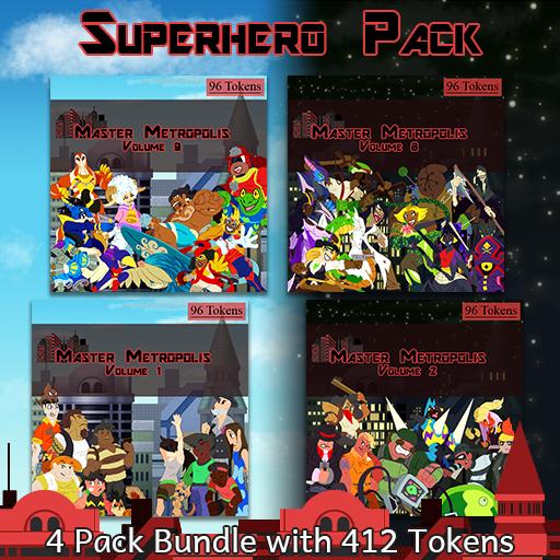Master Metropolis' Super Hero Pack