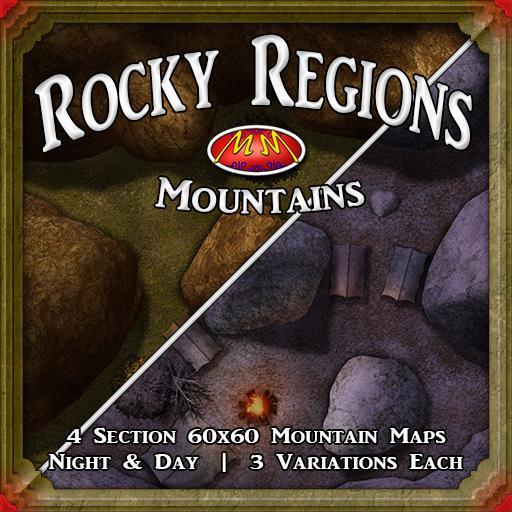 Rocky Region Mountains