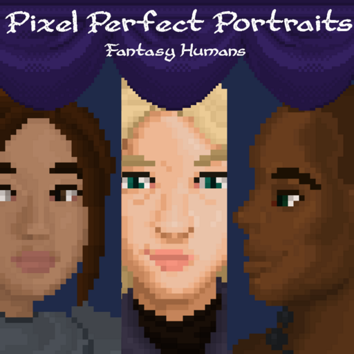 Pixel Perfect Portraits: Fantasy Humans