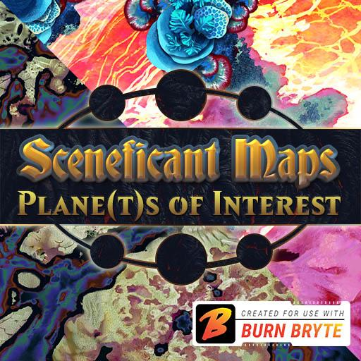 Sceneficant Maps: Plane(t)s of Interest