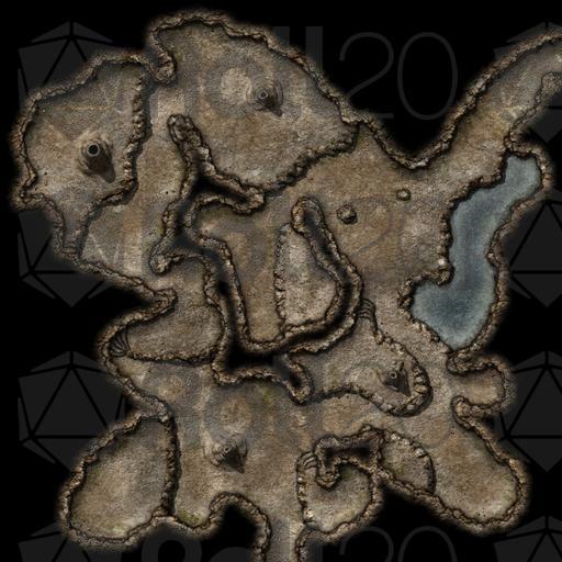 Save Vs  Cave Caverns 2 | Roll20 Marketplace: Digital goods