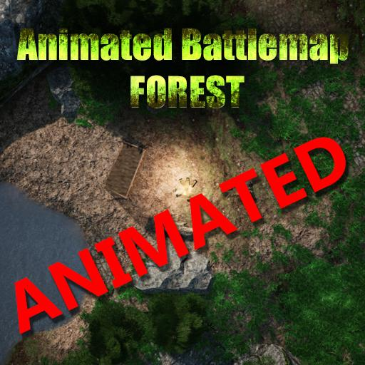 Animated Battlemap: Forest