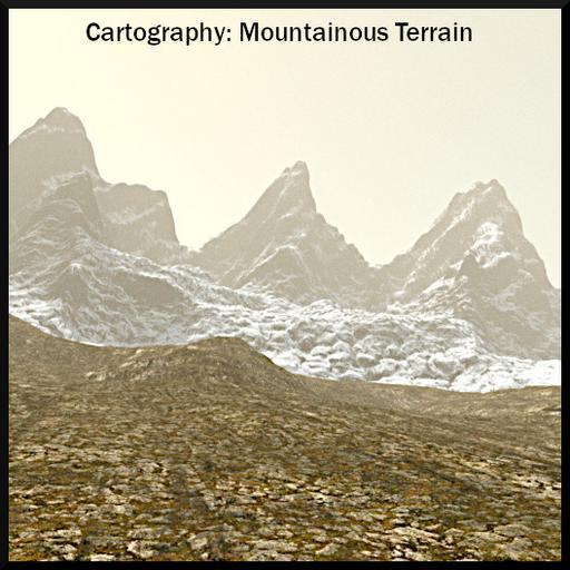 Cartography: Mountainous Terrain