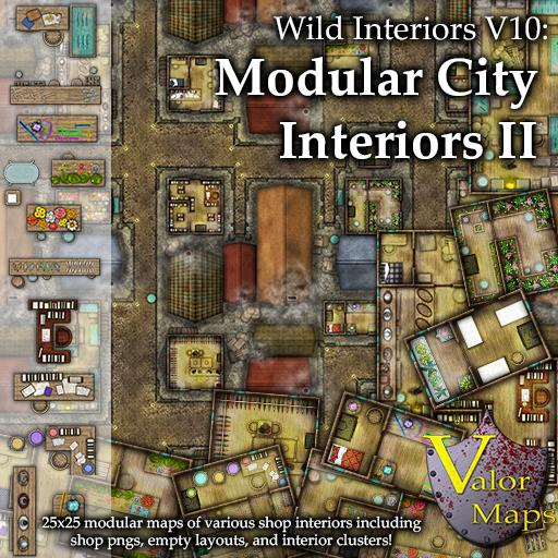 Wild Interiors V10: Modular City Interiors II