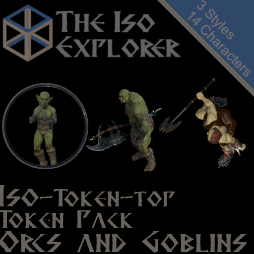 Token Pack : Orcs and Goblins