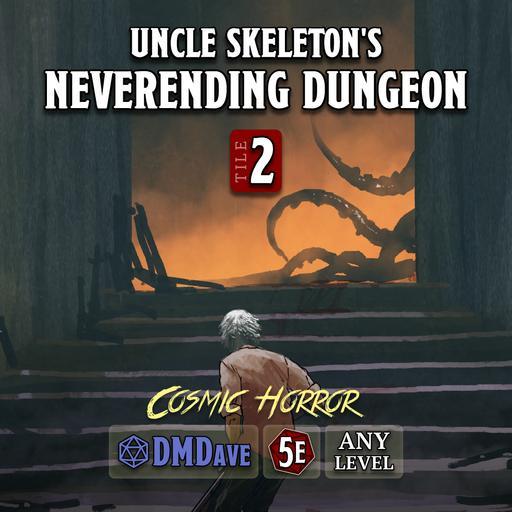 The Neverending Dungeon Tile #002 - Cosmic Horror